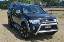 2009 Mitsubishi Triton ML MY09 GLX-R Double Cab Black 4 Speed Automatic Dual Cab Berserker Rockhampton City Preview