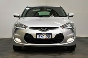 2012 Hyundai Veloster FS Coupe Silver 6 Speed Manual Hatchback Thornlie Gosnells Area Preview
