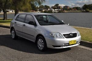 2004 Toyota Corolla ZZE122R Ascent Seca Silver 4 Speed Automatic Hatchback Croydon Burwood Area Preview