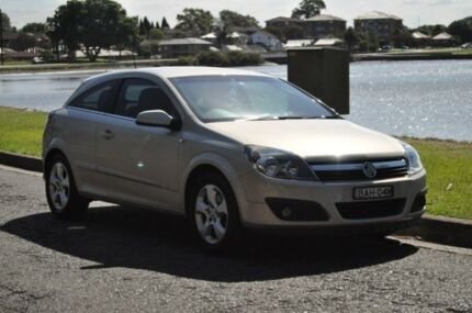 2006 Holden Astra AH MY06 CDX Silver 5 Speed Manual Coupe