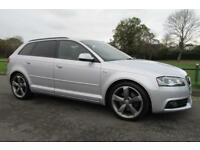 2011 (61) Audi A3 2.0TDI (170PS) Quattro Sportback Black Edition