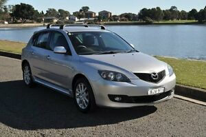 2009 Mazda 3 BL Maxx Sport Silver 6 Speed Manual Hatchback Croydon Burwood Area Preview