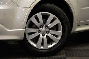 2013 Subaru Tribeca B9 MY13 R AWD Premium Pack White 5 Speed Sports Automatic Wagon