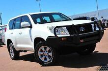 2011 Toyota Landcruiser Prado KDJ150R GX White 6 Speed Manual Wagon Balcatta Stirling Area Preview