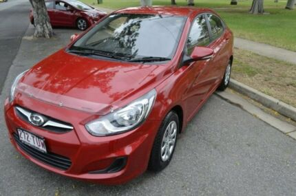 2014 Hyundai Accent RB2 Active Red 6 Speed Manual Sedan Rockhampton Rockhampton City Preview
