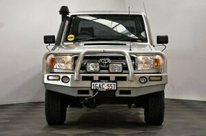 2010 Toyota Landcruiser VDJ79R MY10 GXL Silver 5 Speed Manual Cab Chassis Thornlie Gosnells Area Preview