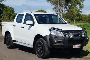 2012 Isuzu D-MAX MY11 SX Alpine White 5 Speed Manual Utility Bundaberg West Bundaberg City Preview