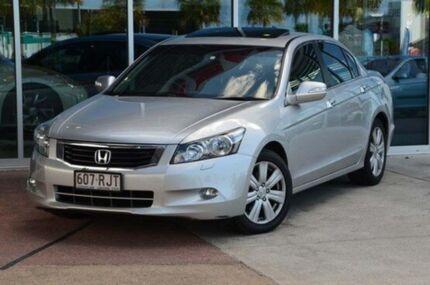 2009 Honda Accord 8th Gen V6 Luxury Silver 5 Speed Auto Seq Sportshift Sedan Robina Gold Coast South Preview