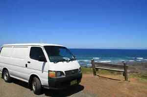 2001 Toyota Hiace Campervan! Insulated + dual battery and fridge! Sydney City Inner Sydney Preview