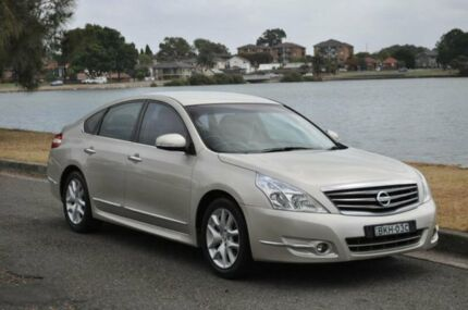 2009 Nissan Maxima J32 250 ST-L Champagne Continuous Variable Sedan