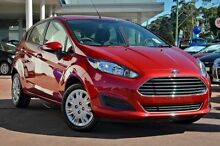 2015 Ford Fiesta WZ Ambiente Candy Red 6 Speed Automatic Hatchback Mornington Mornington Peninsula Preview