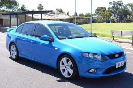 2010 Ford Falcon FG XR6 Blue 5 Speed Sports Automatic Sedan Brompton Charles Sturt Area Preview