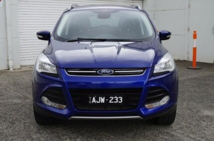 2016 Ford Kuga TF MY16.5 Trend AWD Blue 6 Speed Sports Automatic Wagon