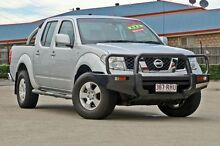 2010 Nissan Navara D40 ST Silver 6 Speed Manual Utility Hillcrest Logan Area Preview