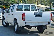 2013 Nissan Navara D40 S8 RX Polar White 5 Speed Automatic Utility Wangara Wanneroo Area Preview