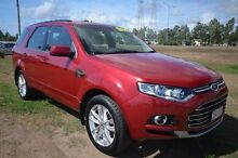 2011 Ford Territory SZ TS Seq Sport Shift Red 6 Speed Sports Automatic Wagon Vincent Townsville City Preview