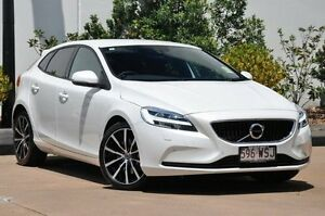 2016 Volvo V40 M Series T3 Momentum Crystal White Pearl 6 Speed Automatic Hatchback Mount Gravatt Brisbane South East Preview