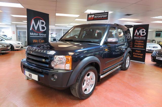 2006 LAND ROVER DISCOVERY 2.7 Td V6 S Auto Full Leather 7 St Side Steps PDC