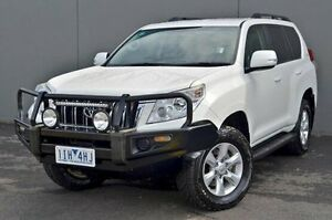 2012 Toyota Landcruiser Prado White Sports Automatic Wagon Cranbourne Casey Area Preview
