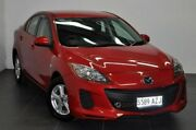 2013 Mazda 3 BL10F2 MY13 Neo Red 6 Speed Manual Sedan Reynella Morphett Vale Area Preview
