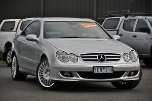 2006 Mercedes-Benz CLK350 C209 MY06 Elegance Silver 7 Speed Sports Automatic Coupe Knoxfield Knox Area Preview