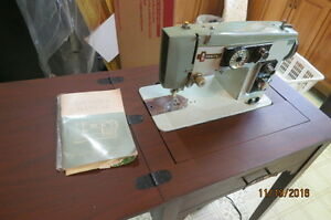 Zenith Sewing Machine and Cabinet Strathcona County Edmonton Area image 2