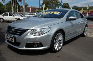2009 Volkswagen Passat CC 3C V6 FSI Grey 6 Speed Direct Shift Coupe Upper Ferntree Gully Knox Area Preview