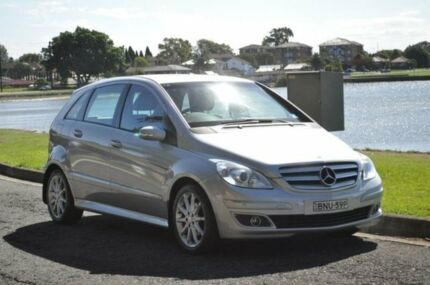 2007 Mercedes-Benz B200 245 Turbo Silver Continuous Variable Hatchback