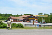 Shell gas station and convenience store on 11 acres in Muskoka