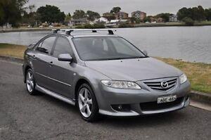 2005 Mazda 6 GG Luxury Sports Grey 4 Speed Auto Activematic Hatchback Croydon Burwood Area Preview