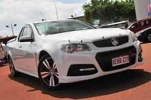2014 Holden Ute VF MY14 SV6 Ute White 6 Speed Sports Automatic Utility Glendalough Stirling Area Preview