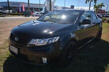 2012 Kia Cerato TD MY13 Koup SI Black 6 Speed Manual Coupe Vincent Townsville City Preview