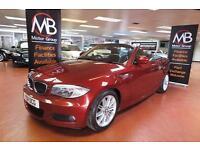 2011 BMW 1 SERIES 120d M SPORT Step Auto Leather Sport Seats AUX