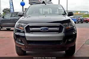 2017 Ford Ranger PX MkII XLS Double Cab Shadow Black 6 Speed Sports Automatic Utility Woodbridge Swan Area Preview