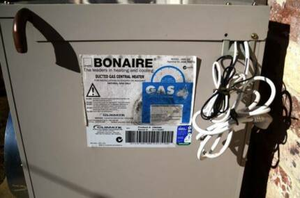 BONAIRE natural gas central heating unit. Bowral Bowral Area Preview