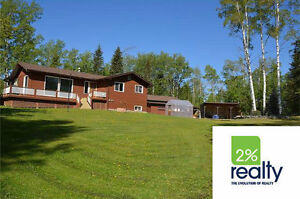Bungalow on 4 Acres! - Listed by 2% Realty Inc