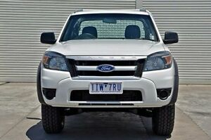 2011 Ford Ranger PK XL Super Cab White 5 Speed Manual Cab Chassis Seaford Frankston Area Preview