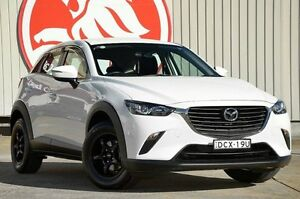 2016 Mazda CX-3 DK2W76 Neo SKYACTIV-MT White 6 Speed Manual Wagon Lansvale Liverpool Area Preview