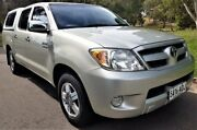 2005 Toyota Hilux GGN15R MY05 SR5 Silver 5 Speed Manual Utility Medindie Walkerville Area Preview