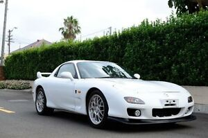 2002 Mazda RX7 White Manual Coupe Burwood Heights Burwood Area Preview