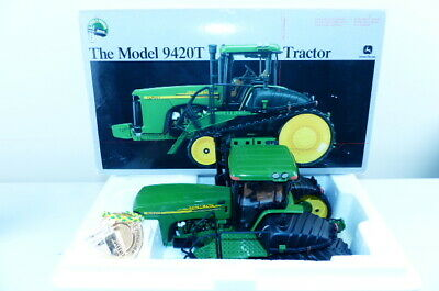 Ertl precision series No 15286 is the model of the John Deere 9420T Tractor VNMB