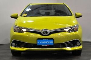 2015 Toyota Corolla ZRE182R Ascent Sport S-CVT Yellow 7 Speed Constant Variable Hatchback