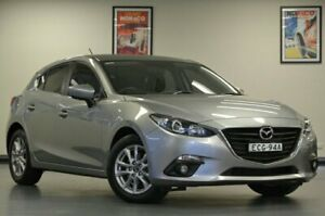 2015 Mazda 3 BM5476 Touring Grey Manual Hatchback Chatswood Willoughby Area Preview