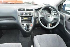 2001 Honda Civic 7TH GEN VI Blue 5 Speed Manual Hatchback