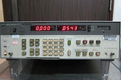 Hpagilent 8903b Audio Analyzer 20 Hz To 100 Khz With Option 001011053