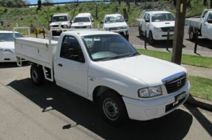 2006 Mazda B2500 MY05 Upgrade Bravo DX White 5 Speed Manual Cab Chassis