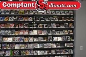 Vaste choix de jeux de PS4 et de Xbox One.Seulement chez Comptant illimite.com