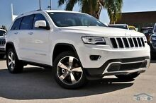 2015 Jeep Grand Cherokee WK MY15 Limited White 8 Speed Sports Automatic Wagon Mount Gravatt Brisbane South East Preview
