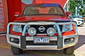 2012 Nissan Navara D40 S6 MY12 ST 4x2 Red 6 Speed Manual Utility Dandenong Greater Dandenong Preview