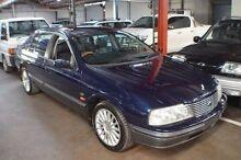 2001 Ford Fairlane AU II Sportsman Ghia Blue 4 Speed Automatic Sedan Renown Park Charles Sturt Area Preview